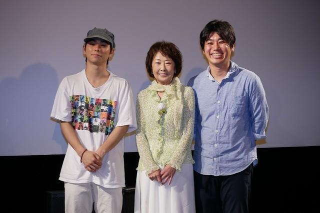 吉行和子、村上虹郎と外山文治監督