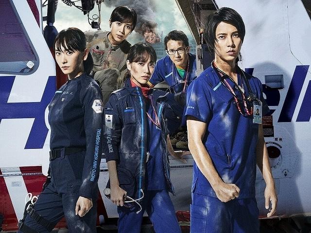 劇場版「コード・ブルー」がMX4D&4DXで上映決定!興収は7日間で27億円を突破