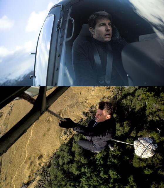 トム・クルーズ、前人未踏の超絶スタント5連発!驚異の舞台裏明かすメイキング映像