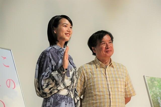 のん&片渕須直監督「この世界の片隅に」終戦記念日の再上映に感慨「まだまだ上映を続けていきたい」