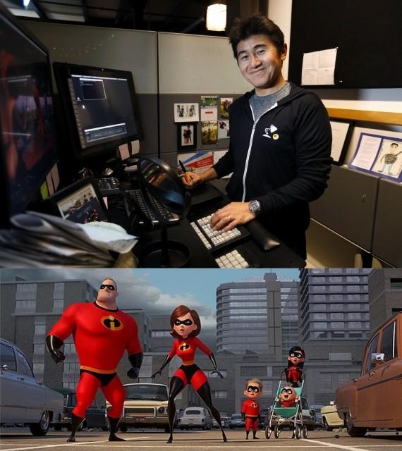 所属日本人アニメーターが明かすピクサー流映画作りと「インクレディブル・ファミリー」製作の舞台裏