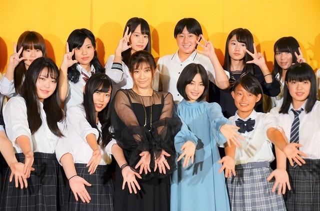 篠原涼子&広瀬すず、「SUNNY」のカットシーンをめぐって意気投合