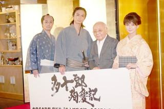 中島貞夫監督の20年ぶり新作「多十郎殉愛記」 主演・高良健吾、監督がヨーダに見えた