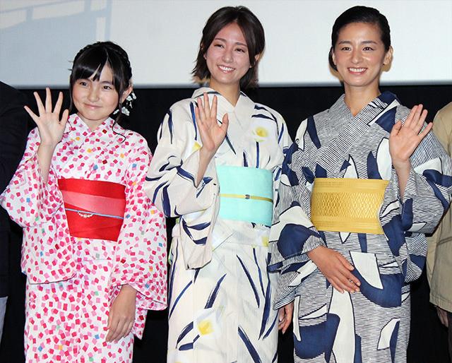 尾野真千子、初挑戦の声優を木村文乃に褒められ大照れ「後でお礼言います」