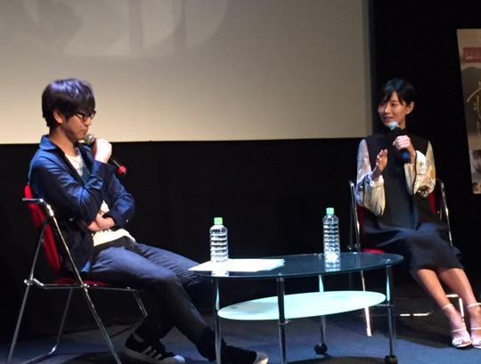 玄理(右)と中井圭氏