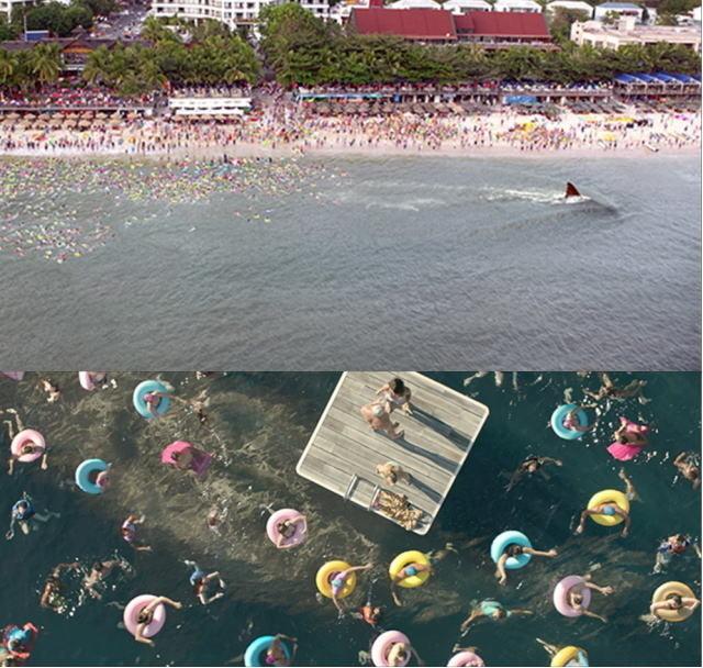 海水浴場に超巨大ザメが来たら……「MEG」戦慄の本編パニック映像公開