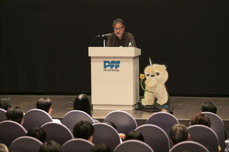 第40回PFF開幕 黒沢清監督が語るロバート・アルドリッチ
