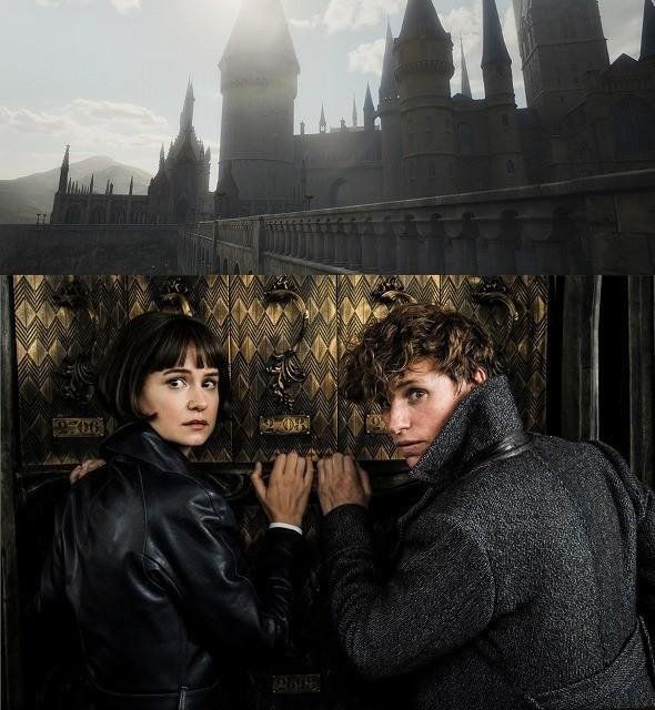 ホグワーツ魔法魔術学校の 撮影風景が公開された