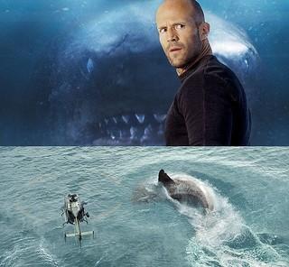 深海レスキューのプロを演じている ジェイソン・ステイサム「MEG ザ・モンスター」