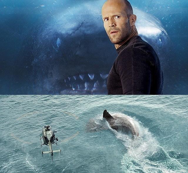 深海レスキューのプロを演じている ジェイソン・ステイサム