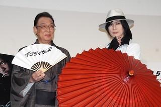 京本政樹&梅沢富美男、映画宣伝そっちのけで「必殺仕事人」トーク