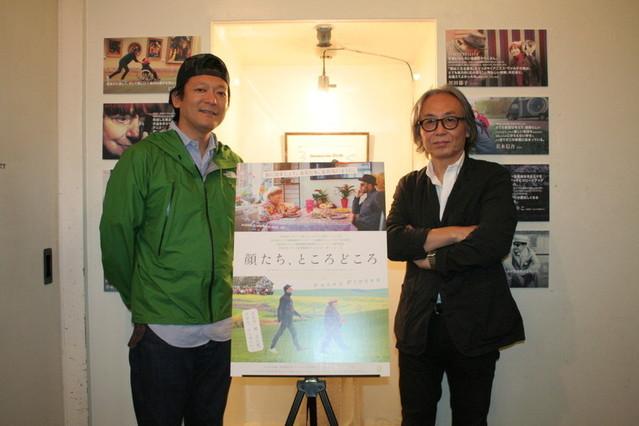若木信吾氏(左)と鈴木芳雄氏