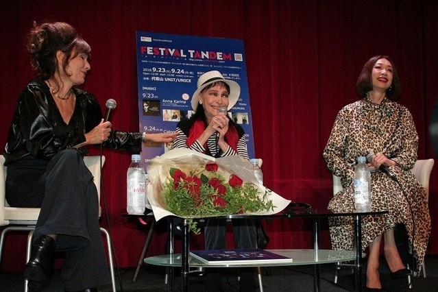 アンナ・カリーナが18年ぶりに来日 クレモンティーヌ、野宮真貴とライブ