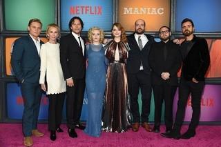 Netflix「マニアック」NYプレミアにエマ・ストーン&ジョナ・ヒルら豪華キャスト結集!