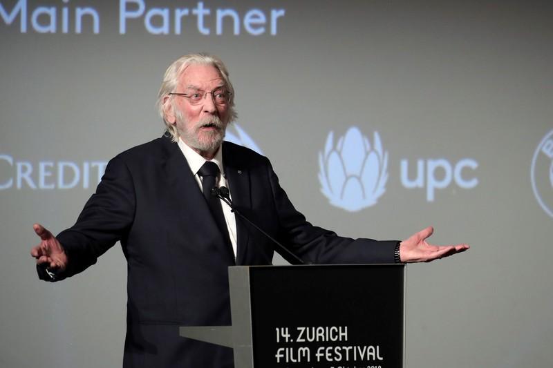 ドナルド・サザーランド、チューリッヒ映画祭で栄誉賞!茶目っ気たっぷりに謝意