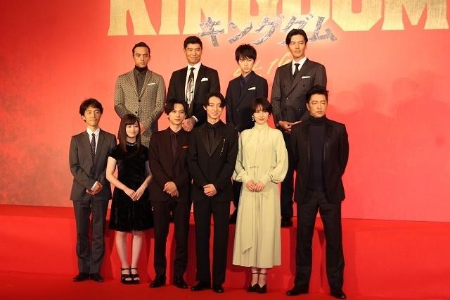 「キングダム」実写映画化、主演は山崎賢人!吉沢亮が政、大沢たかおが王騎に扮する