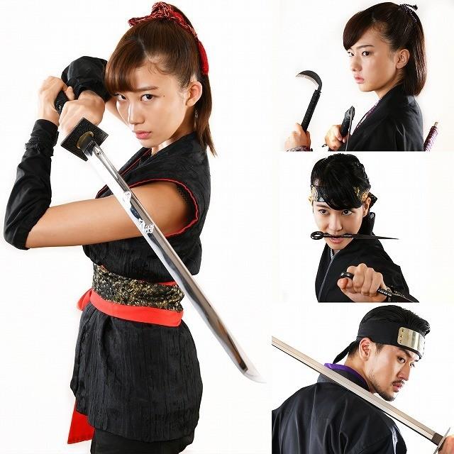 小倉優香、映画初主演作品でくノ一に! 園子温が原案手がけた「レッド・ブレイド」12月公開