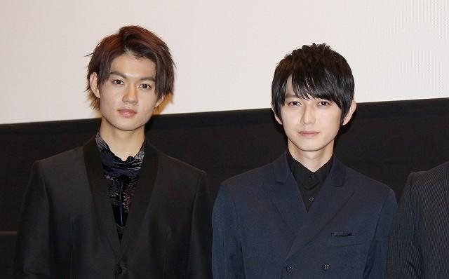 ダブル主演の佐野勇斗(右)と本郷奏多