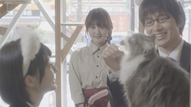 声優・久保ユリカの実写映画初主演作「猫カフェ」12月1日公開決定