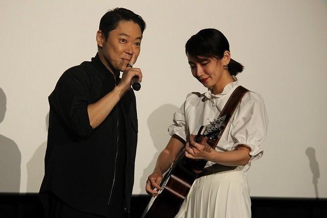 吉岡里帆「音タコ」主題歌を生披露! 阿部サダヲの歌唱力に「マジ、尊敬っす」 - 画像1