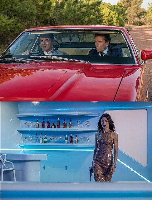 「007」シリーズのパロディ満載