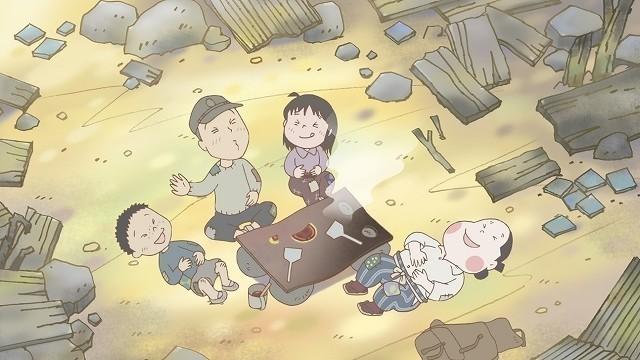 監督・脚本は片渕須直、 キャラクター原案はこうの史代