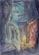 『肉体の門』より「リンチの場」(1972年頃)