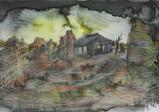 『父と暮せば』より「廃墟の中の家」(2003年)