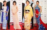 第31回東京国際映画祭 世界の美女が華やかな衣装で競演!