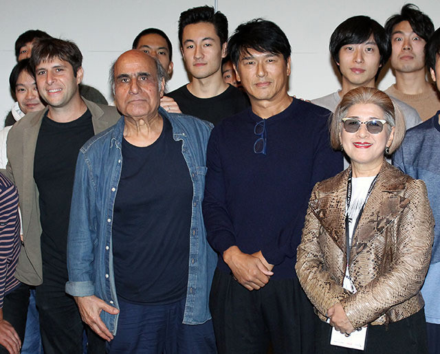 A・ナデリ監督がワークショップで日本映画の魅力を力説、自主参加・高橋克典も感化