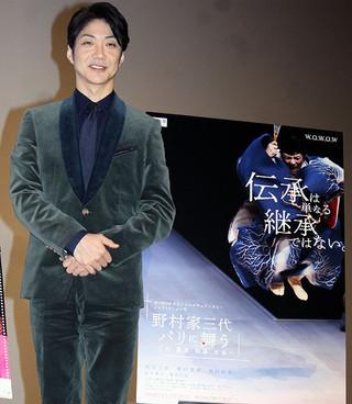 野村萬斎、演出統括の東京五輪開閉会式で踊る!?「躍動感は見せなければいけない」