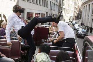 ロンドンの街で大暴れ!「ジョニー・イングリッシュ アナログの逆襲」