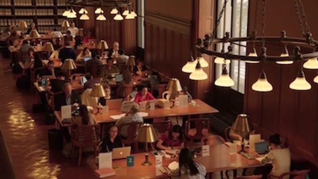 アメリカを代表する図書館、ニューヨーク公共図書館