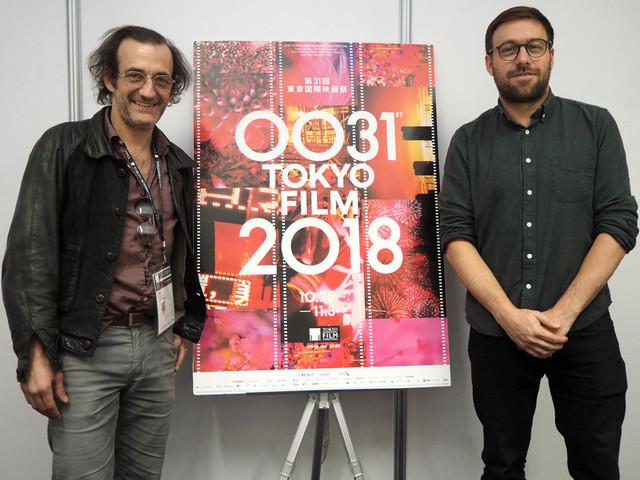 マキシム・ジルー監督とマルタン・デュブレイユ