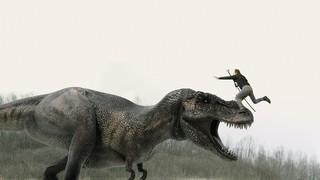 """巨大ザメが牙をむく""""恐竜時代""""へGO! 「シャークネード」新作、本編映像入手"""