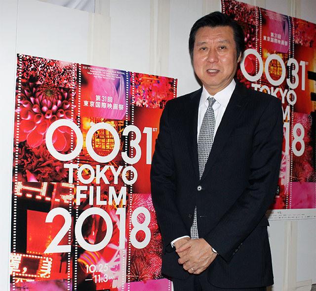 東京国際映画祭の久松猛朗 フェスティバル・ディレクター