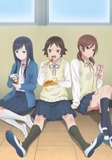 日常学園コメディ「女子高生の無駄づかい」TVアニメ化 バカ、ヲタ、ロボを描いたビジュアル公開