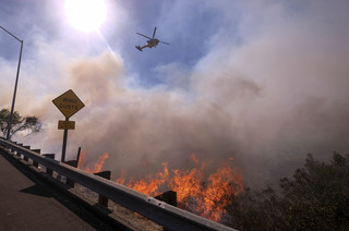 カリフォルニア山火事の影響でハリウッド映画のイベントが中止に