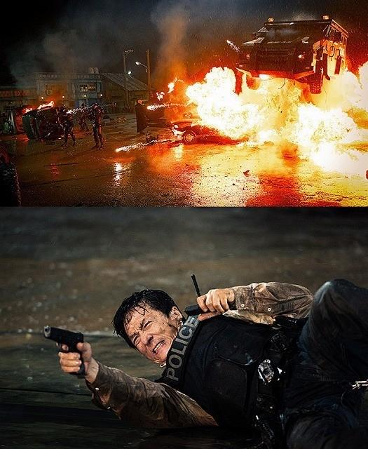 銃も火薬も本物!ジャッキー・チェン主演「ポリス・ストーリー」迫力の銃撃戦が公開