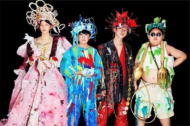 劇中バンド「LITTLE ZOMBIES」のメンバー