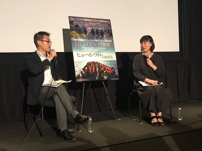 アイ・ウェイウェイが難民問題を映した「ヒューマン・フロー」報道写真家、美術館キュレーターが対談