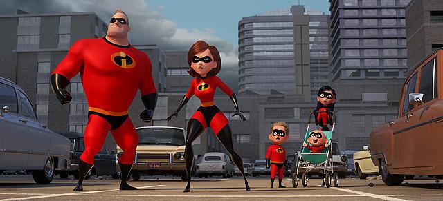 スーパーヒーロー家族の活躍を描く