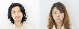 佐藤秋(左)と山口遥「足りない二人」