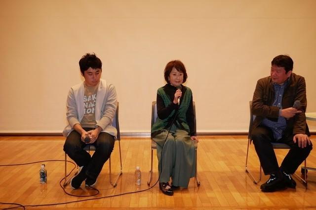 吉行和子もトークショーに出席