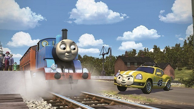 ISSA「きかんしゃトーマス」で劇場アニメ声優初挑戦!いたずら好きのレーシングカーに - 画像1
