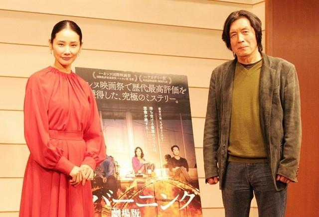 イ・チャンドン監督(左)と吉田羊