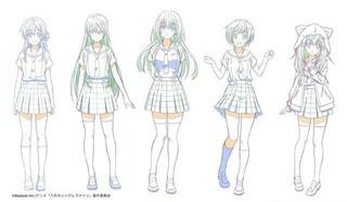 「ハチナイ」有原翼ら5人のメインキャラデザイン公開 キャストはゲーム版から続投決定