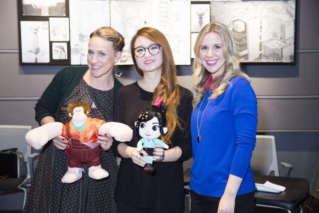 (左から)パメラ・リボン、アミ・ トンプソン、キーラ・レトマキ