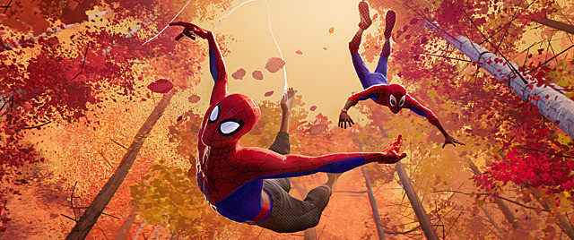 【全米映画ランキング】アニメ版「スパイダーマン」がV イーストウッド10年ぶりの監督・主演作は2位