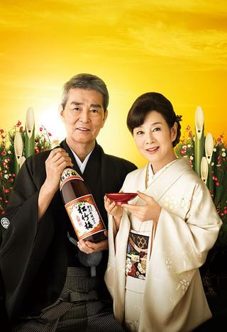 渡哲也、31年連続「松竹梅」CM撮影 本格復帰に向け「トレーニングしています」